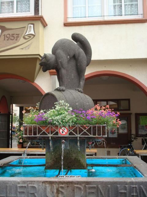 The fountain at Zell-am-See