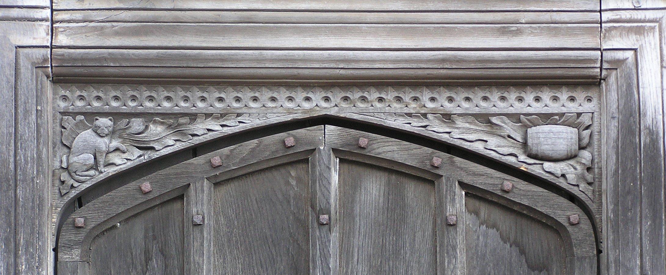 Manor House door detail