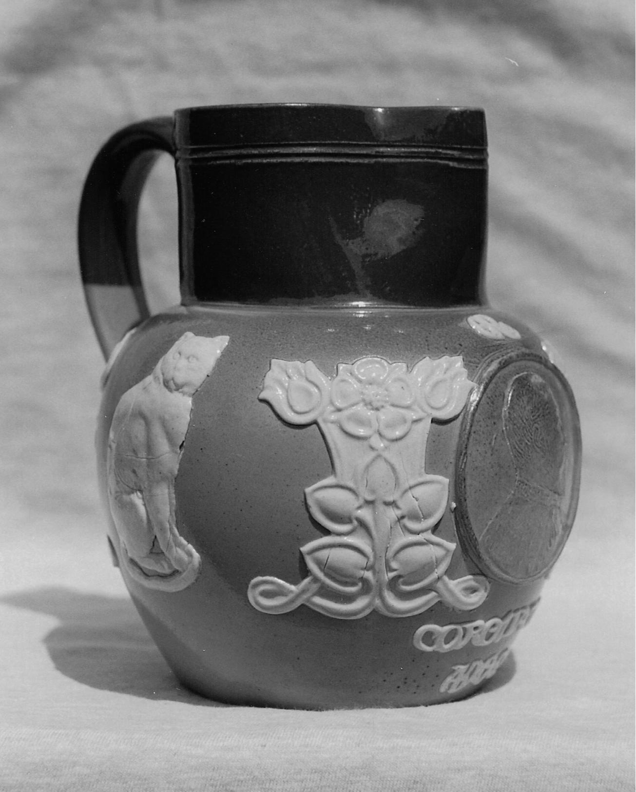 Coronation of Edward VII - commemorative Doulton mug 1902
