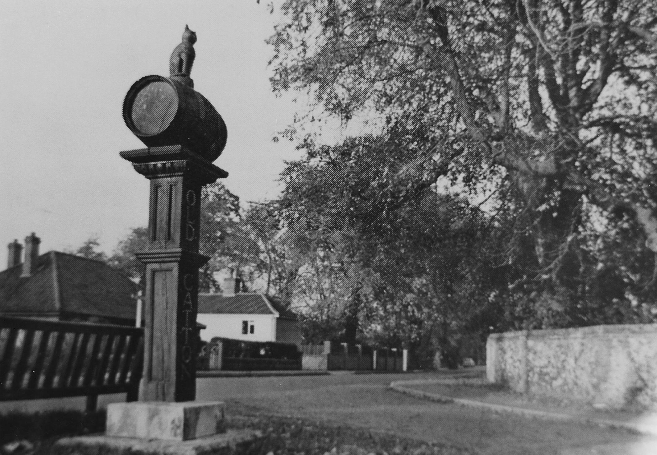 The sign still at St Faiths Road junction - 1968