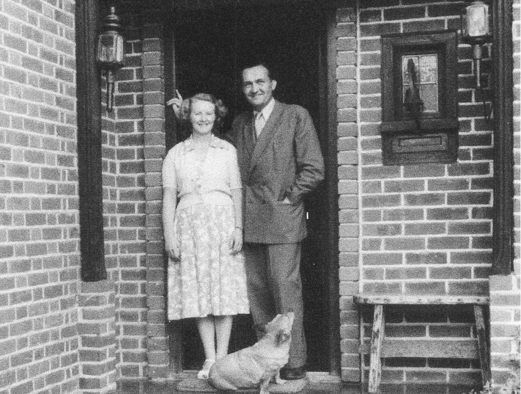 Wolfgang Klinge and wife  - Greyfriars
