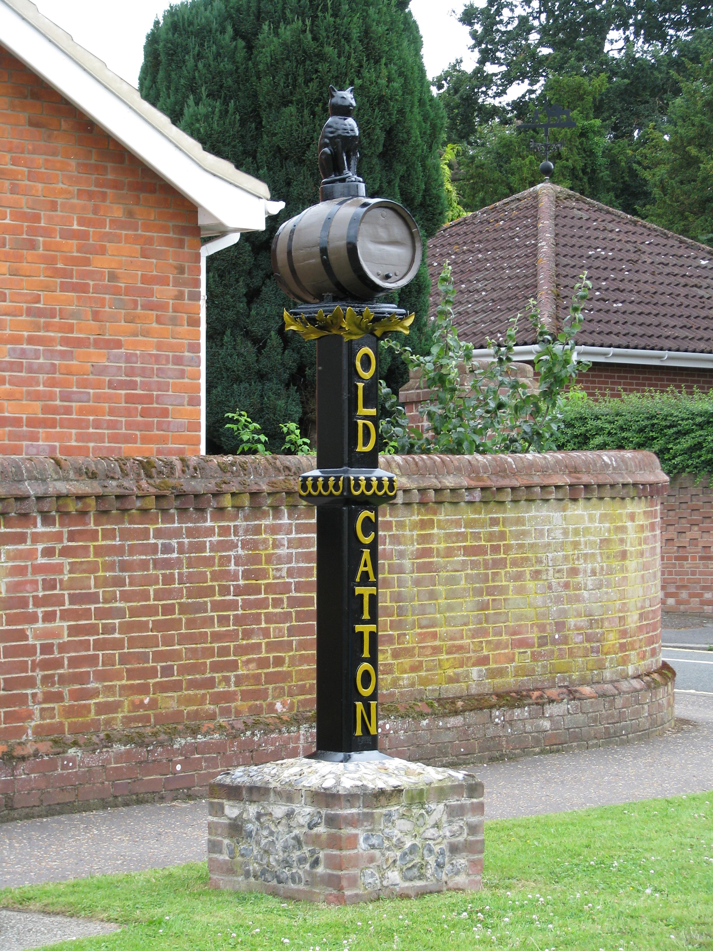 Village sign - June 2013