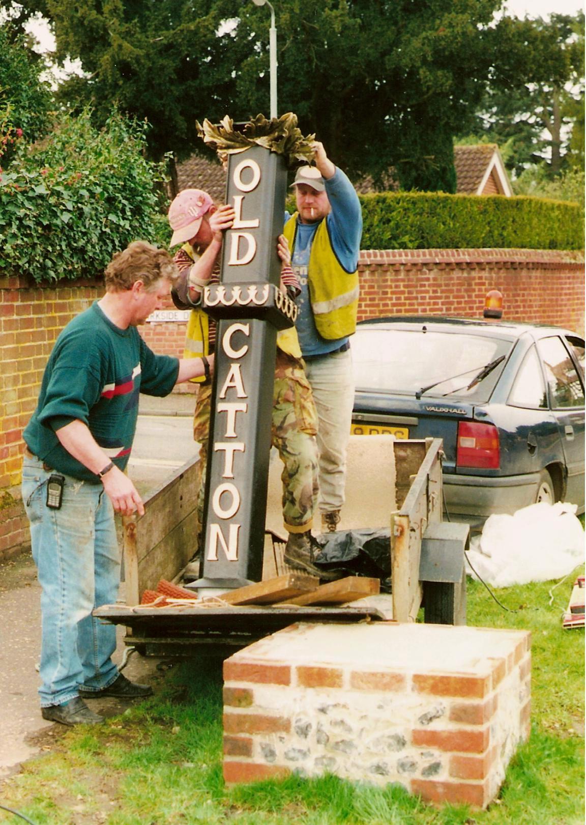 The new column arrives - 2001