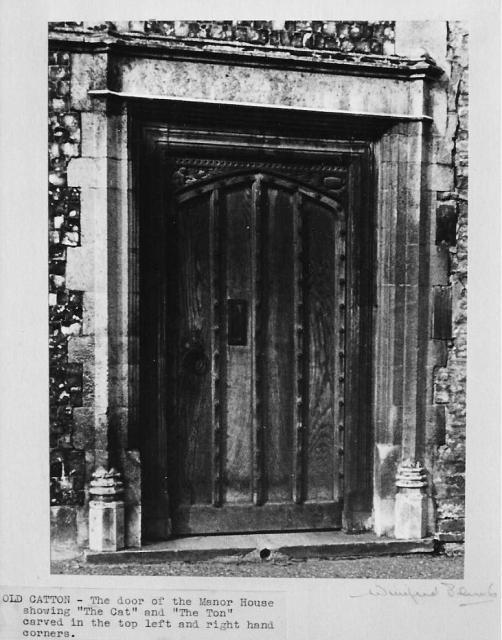 Manor House door