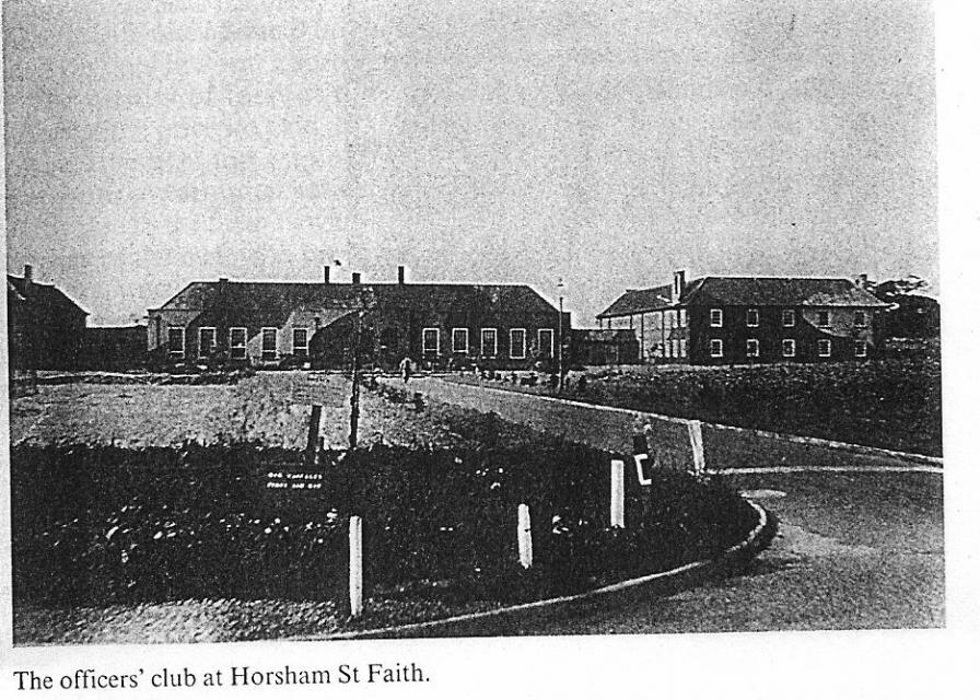 The officers' club at Horsham St. Faith.