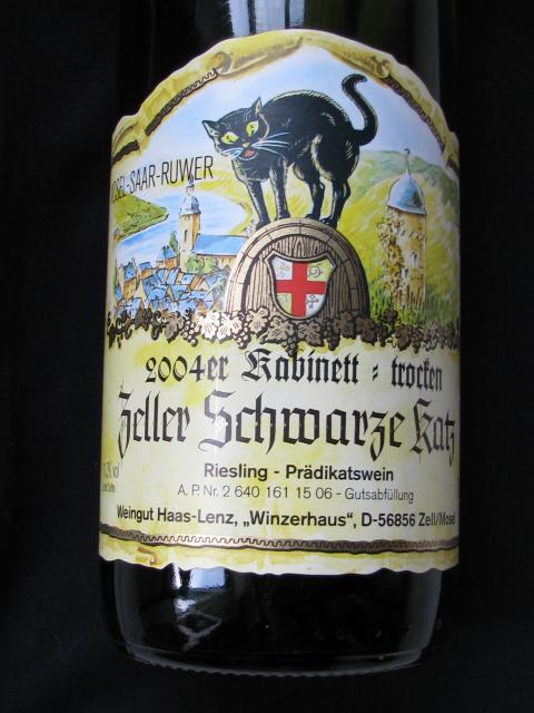 Wine Label from Zell-am-See